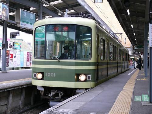 江ノ電1001F@鎌倉