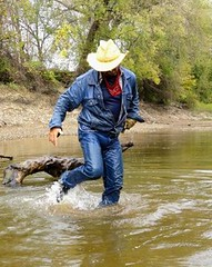 37 WS Awesome wet clinging Wrangler gear & boots (Wrangswet) Tags: swimming canal wranglers cowboyhat riverhike swimmingfullyclothed wetjeans guysinwetjeans wetladz wetwranglers wetcowboy wetcowboys wetcowboyboots wetwranglerjeans meninwetjeans swimminginboots