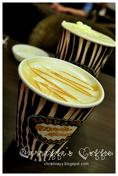 Zarraffa's Coffee: Hot Coffees