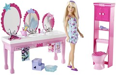 Barbie Sisters Beauty Fun Bathroom and Skipper Doll Set (Christo3furr) Tags: beauty set sisters fun bathroom doll barbie skipper mattel