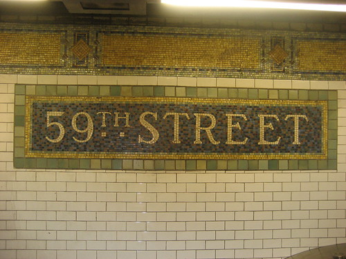 59th street subway station