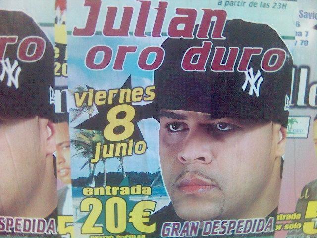 Julián oro duro