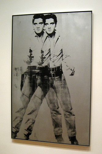 NYC - MoMA: Andy Warhol's Double Elvis