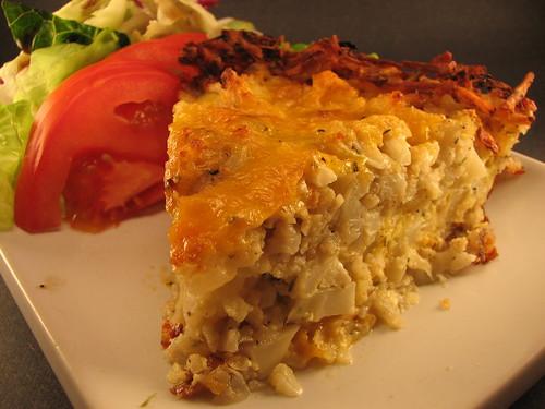 ... cheese pie close up cauliflower cheese pie tuna cauliflower and cheese
