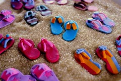 flip flop crazy ({zalita}) Tags: africa pink flowers blue original copyright brown white cute cake sparkles vintage southafrica fun photography cupcakes yummy sand pretty artist lace unique gorgeous south events cream sugar marshmallows flipflops ethnic yumm couture marshmellows toppers whimsical durban motala bespoke fondant cuppies lindt mmf westville shabbychic suidafrika proudlysouthafrican 10faves zahirah zalita cupcakedlights zahirahmotala couturecupcakes wwwcupcakedlightsblogspotcom bridalcakes cupcakesa wwwcupcakedlightsblogpsotcom zmotala candytables zmotz1gmailcom