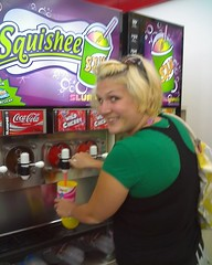 Me getting a Squishee