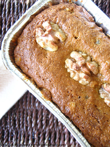 Apricot- Nuts Bread