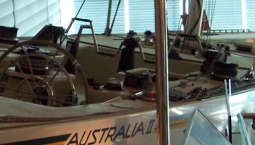 Australia II deck