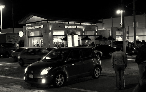 Starbucks Coffe & Suzuki Swift