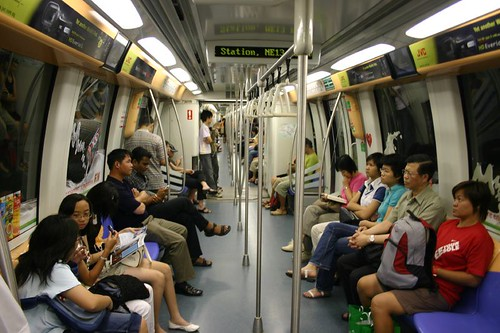 Singapore's MRT metro system is very effective and smooth...