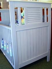 Blue Crib