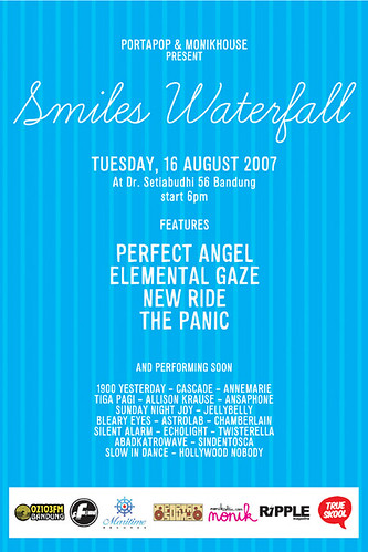 smiles waterfall flyer