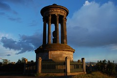 Edinburgh - Calton Hill at dusk