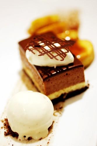Triple Chocolate Terrine