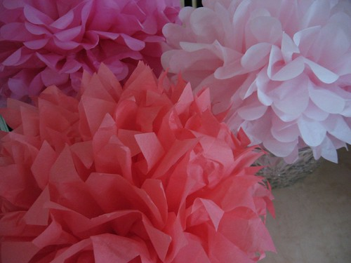 how to make paper flowers with tissue. Tissue Paper Flowers. Martha