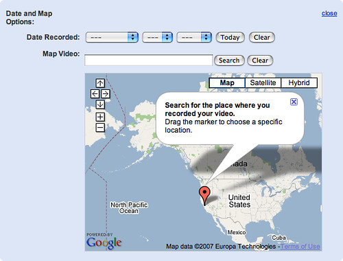 Google Maps on YouTube