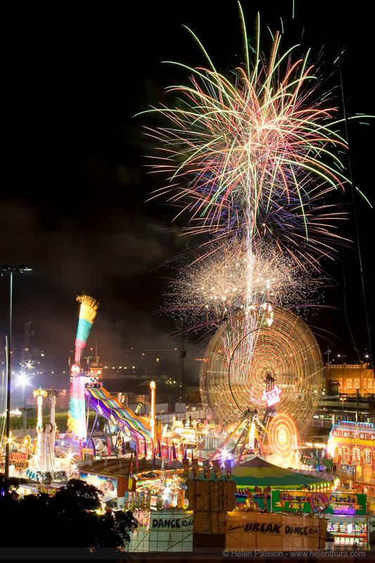 Ekka Fireworks night 2