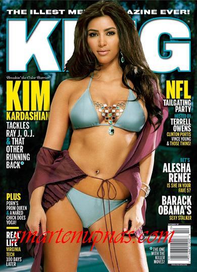 Kim Kardashian King magazine cover