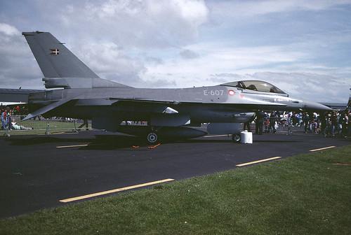 F-16A E-607 ESK726 St Athan 1 290691