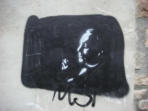 Stencil Grafitti