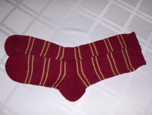 Gryffindor Stripe Socks