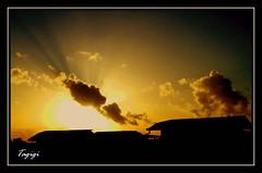 """My Neighbors (Akong mga Silingan) (Gilbert """"Tagigi"""" Baron) Tags: morning sunrise silhouettes finepix gilbert fujifilm neighbors baron pardo cebusugbo s9600 tagigi"""