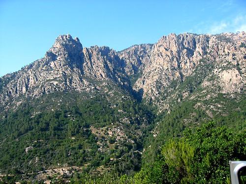 Le massif de la Punta di a Spusata