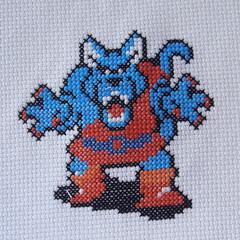 Wolf (benjibot) Tags: crossstitch crafts videogames crop nes dragonwarrior reshoot