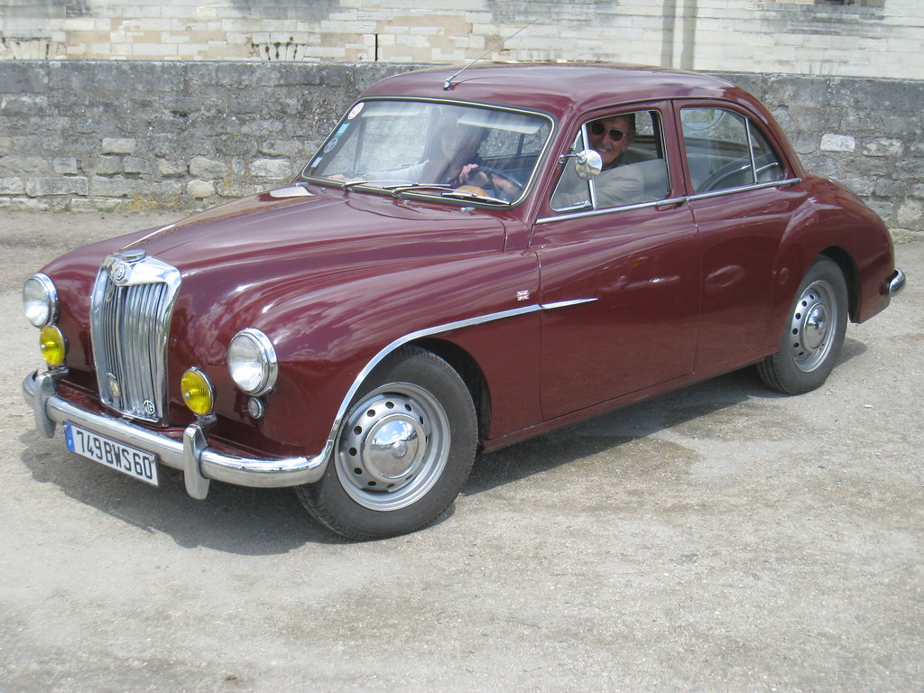 The MG Magnette ZA was launched in 1953 at the London Motor Show and deliveries started in March 1954.