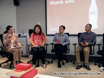 Bloggers panel