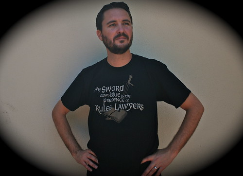 My Sword Glows Blue in the Presence of Rules Lawyers