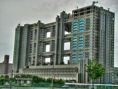 Fuji TV (HIADA) Tags: building japan tokyo tv fuji odaiba japon hdr tokio fujitv hiada