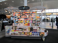 Health Travels Booth in Toronto Airport