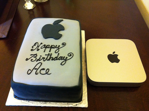 Mac Mini Replica Cake
