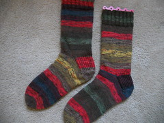 My Trekking socks finished