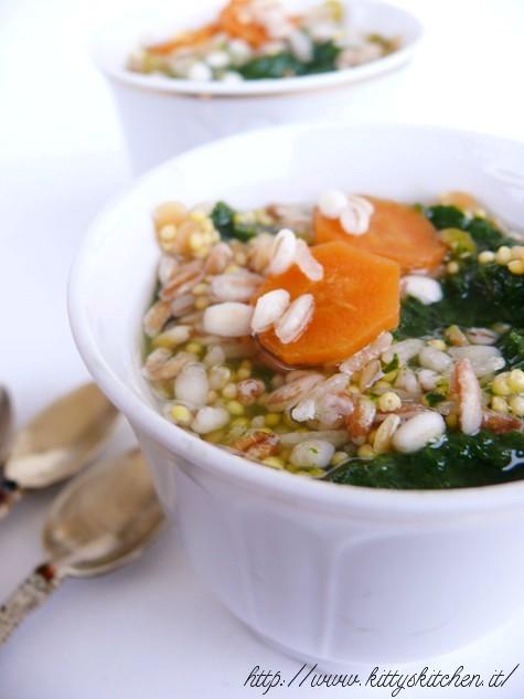 zuppa ai cinque cereali