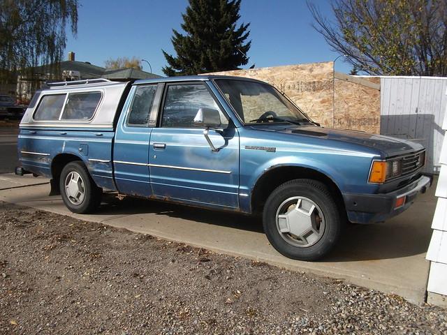 blue truck 1982 king nissan cab datsun
