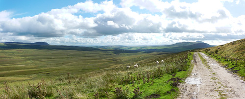 The view from the Pennine Way