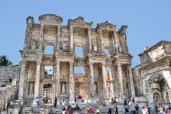 Library of Celsus (dabrantes) Tags: trip vacation turkey nikon library ephesus celsus d5000