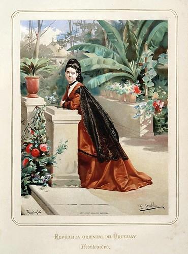 007-Republica oriental del Uruguay-Montevideo-Las Mujeres Españolas Portuguesas y Americanas 1876-Miguel Guijarro