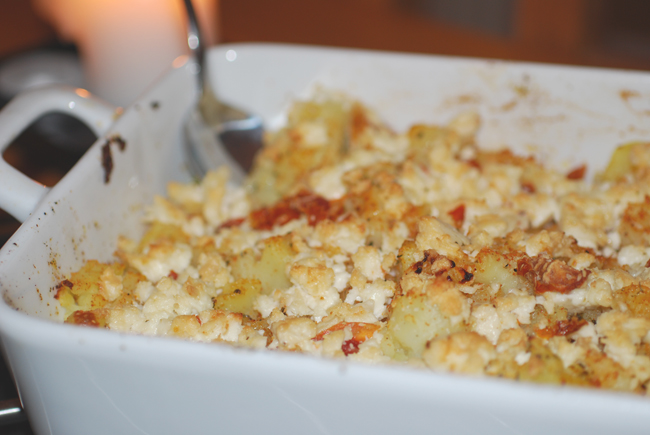 potatoes with fetacheese