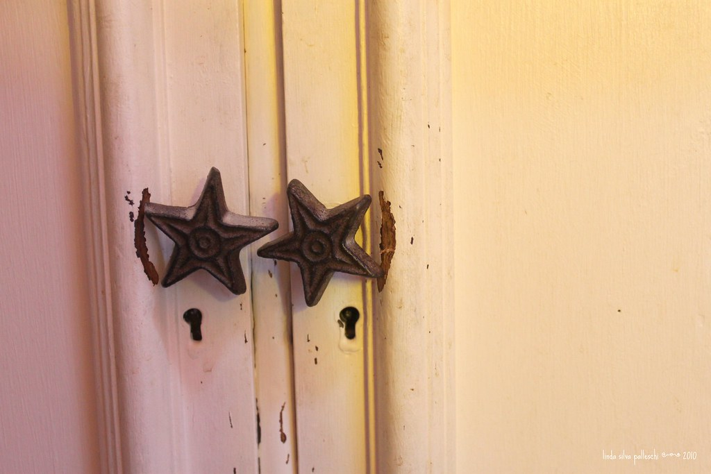"""old cupboard with stars 