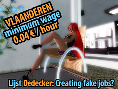Vlaanderen Second Life: a sitting job