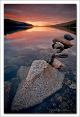 Wallowa Lake Sunset (Chip Phillips) Tags: sunset lake vertical oregon landscape joseph photography rocks phillips chip canon5d wallowa eastern northeast canon1740