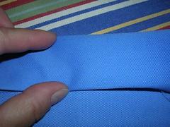 initial fold