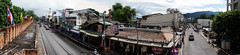 Panorama of Chiang Mai from Tha Phae gate