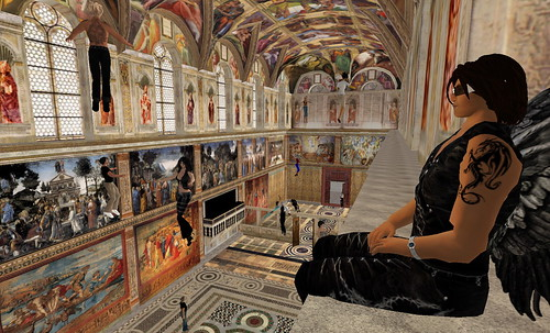 Sistine Chapel in Second Life 06