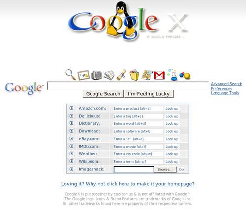 GoogleX cooleon.us