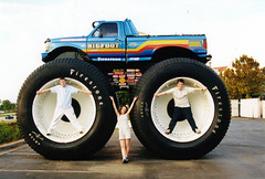 MJS and Bigfoot (Robotik: Michael) Tags: bigfoot monstertruck