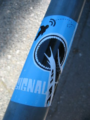 IMG_5157 (jdong) Tags: seattle street sticker sidewalk spaceneedle wallingford